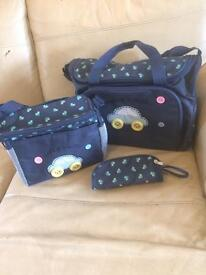 Baby changing bag 3 pcs (new)