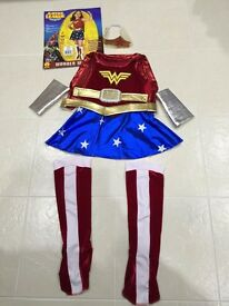For Sale. In perfect condition. Wonder Woman outfit. Age 3-4 years. Only worn once. £3