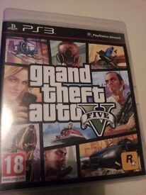 Grand Theft Auto 5 (GTA5) for the Playstation 3 (PS3)