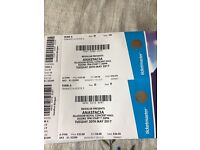 Anastasia tickets x 2, face value.Tuesday 30th May Royal Concert Hall, Great seats