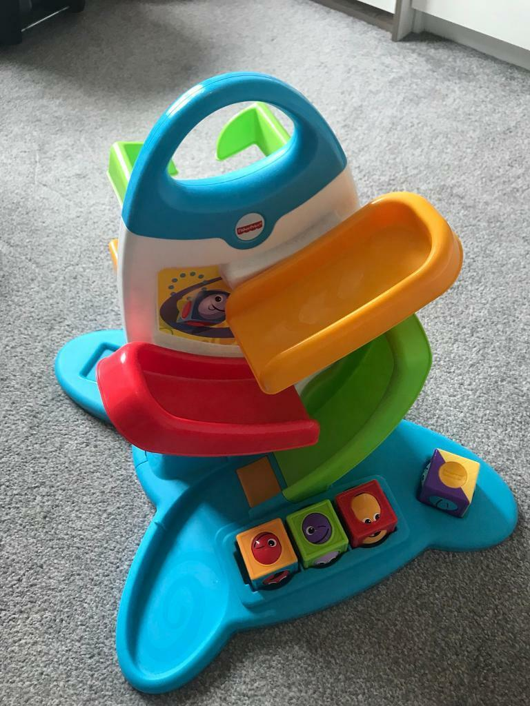 Fisher Price Musical Roller Block Drop In Airdrie North Baby