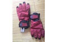 Ski, Snowboarding DC gloves, size S