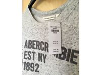 Ladies Abercrombie & Fitch Soft touch applique Sweater. New with tags