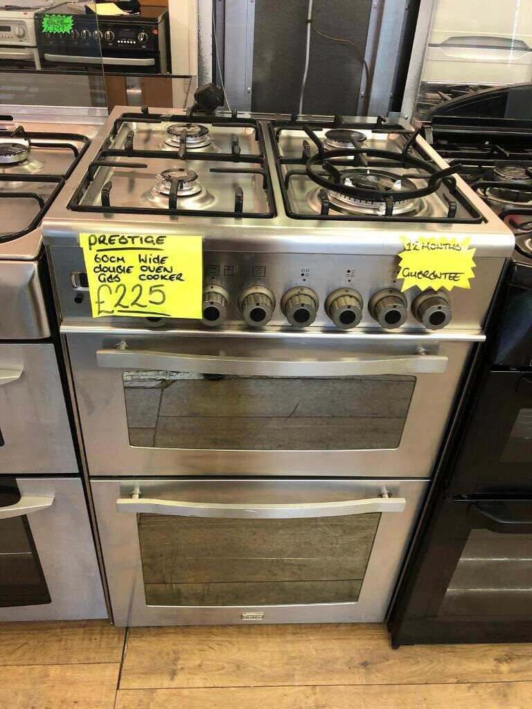PRESTIGE 60CM ALL GAS COOKER IN STAINLESS STEEL
