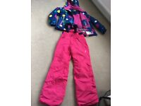 Girls' skiwear, 9-10 years; excellent used condition