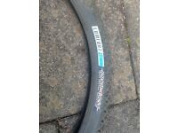 Pair bontrager comfort b mountain bike tyres