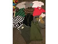 Men's bundle 14 items a&f,superdry etc