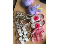Kids size 9 sandals & slippers