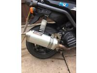 Yamaha bws 125 scooter bws125 sports exhaust system