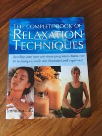 The Complete Book of Relaxation Techniques BRAND NEW