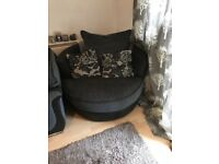 Swivel snuggle chair for sale