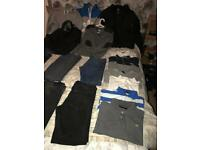 Men's clothes l and xl trainers size 11
