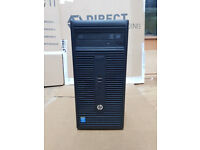HP Prodesk 400/280 G1 MT Core i5-4590s @3.0GHz 8GB Ram 500GB HD USB 3.0 Win 10 PC