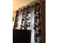 Next full length curtains 2 pairs