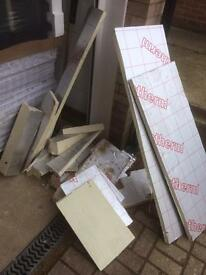 Free insulation off cuts