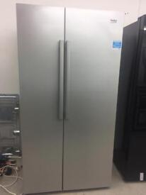 BEKO silver good looking frost free A-class fridge freezer