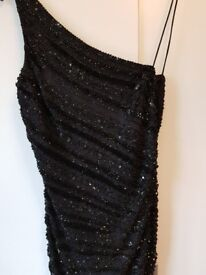 Handmade sequined dress in excellent condition