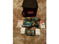 Makita drill and jigsaw set 18v brand new