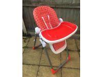 BabyStart Deluxe Highchair