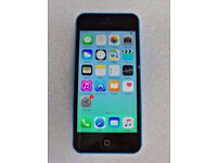 APPLE IPHONE 5C BLUE 16GB WITH RECEIPT