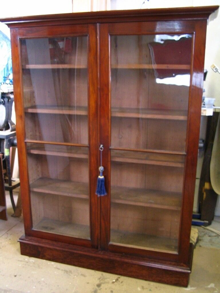french display cabinet furniture wide provincial glass bookcase head double