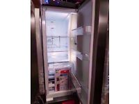 Brand New Stainless Steel A+++ Class Hotpoint American Style Fridge Freezer