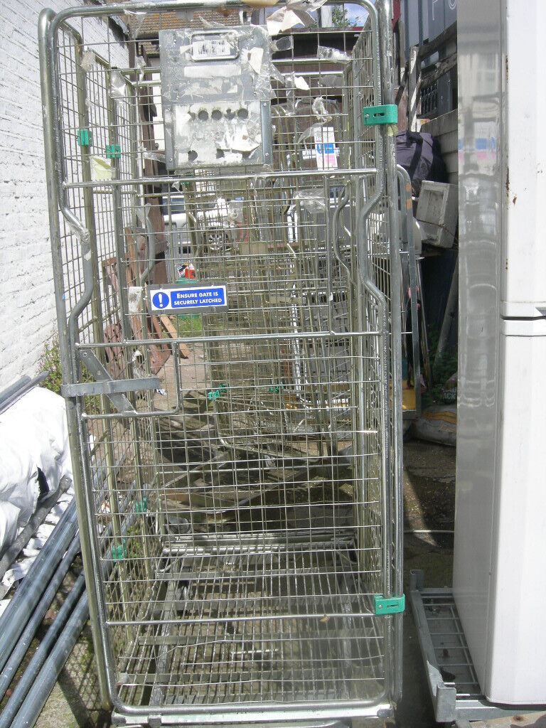 Roll Cage Container Trolleys - on caster 4 sided , Warehouse | in  Leytonstone, London | Gumtree
