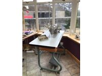 Pfaff Industrial Sewing Machine and Table