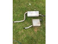 Exhaust from Ford Focus