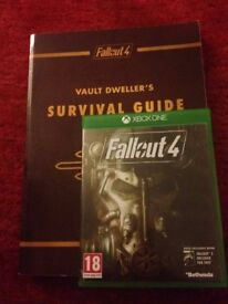 Fallout 4 and Vault Dwellers Survival Guide Xbox One