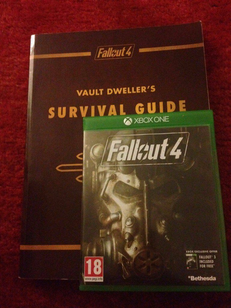 fallout 4 and vault dwellers survival guide xbox one in broadstone
