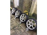 Velocity Alloy Wheels With Tyres