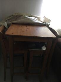 Tall kitchen table