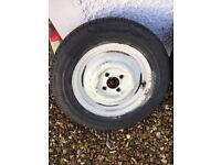 Morris Minor Traveller wheels
