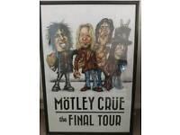 Mötley Crue final tour poster