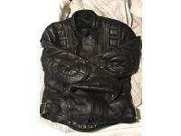 Women's Belstaff leather motorbike jacket