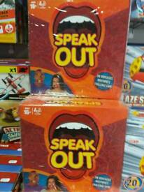Speak out game 16+