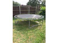 12ft trampoline, no enclosure