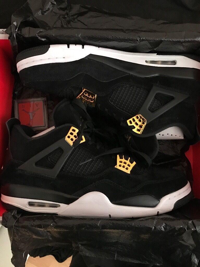 a25b9a86dfb501 Jordan 4 Retro Royalty Size 12