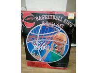 Brand new Basketball Ring and Ball Set