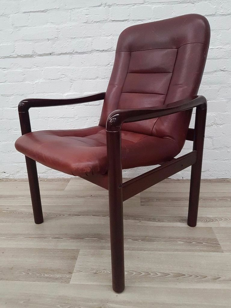 Dyrlund Danish Leather Armchair Delivery Available For
