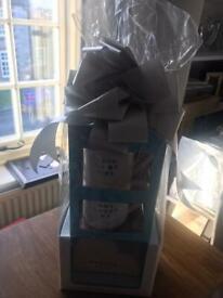 Mugs x 2 with wedding fund box, BRAND NEW