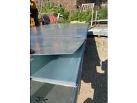 2500 x 1250 0.95 mil thick flat galv mild steel sheet