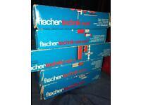 5 boxes of Fischertechnik Fischer technik