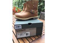 Timberland waterproof pull on boots, unworn, size 5.5