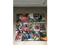 15 Marvel and DC comic books including Justice League, X-Men, Superman, Hulk