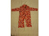 Boys christmas pyjamas 2-3 years