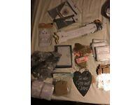 Mixed wedding decorations