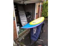 7.1 Custom Greame Bunt Surfboard