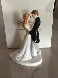 Royal Doulton/ our wedding day figurine/ wedding cake topperc